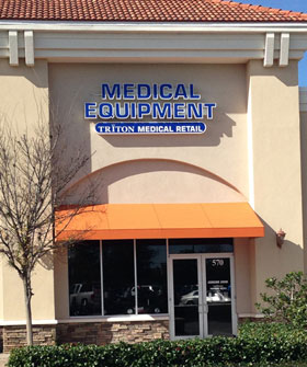 Medical Equipment & Supplies Store - Triton Medical - Ocala - Lady