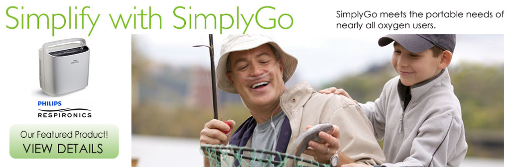 SimplyGo Portable Oxygen - click for details