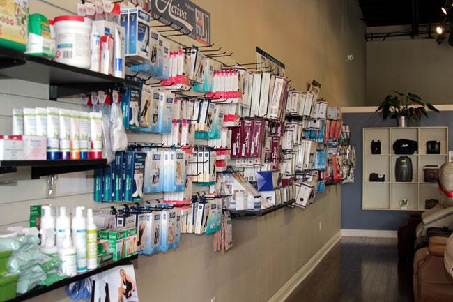 Medical Supply Store - Triton Medical Retail - Ocala - Lady